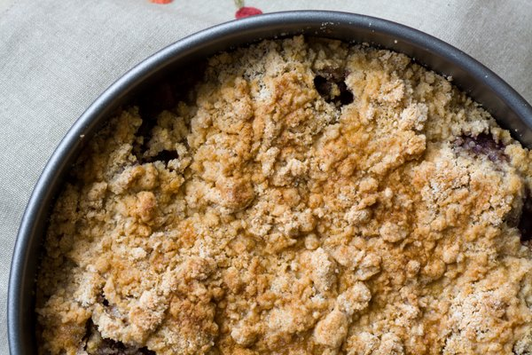 Above Plum Crumble