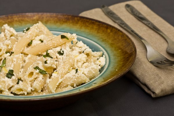 Ricotta Lemon Pasta
