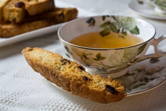 Biscotti and Tea