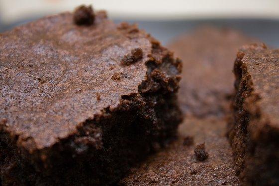 Brownies close