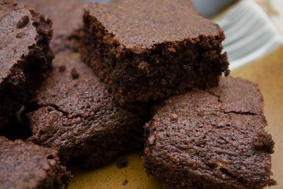 Brownies stack