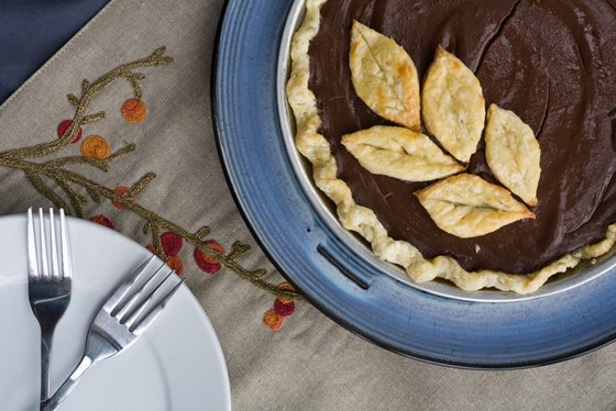 Chocolate Pie top