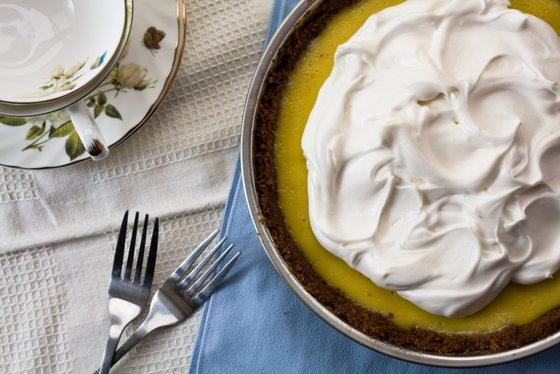 Key lime Pie top A Peruvian Feast