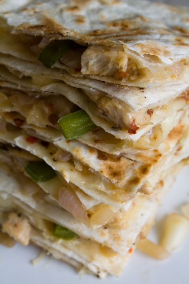 Quesadilla Stack Spanish Tortilla