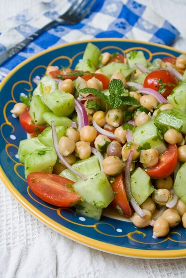 Veggie Overload Chickpea Salad Recipes — Dishmaps