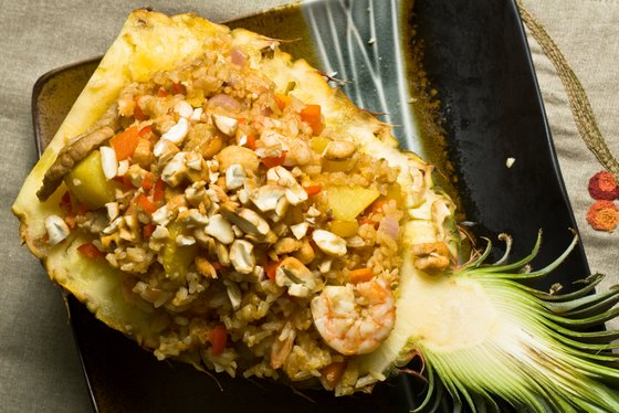 Pineapple Fried Rice top