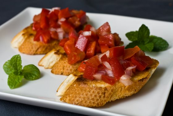 Bruschetta Red Pepper Bruschetta