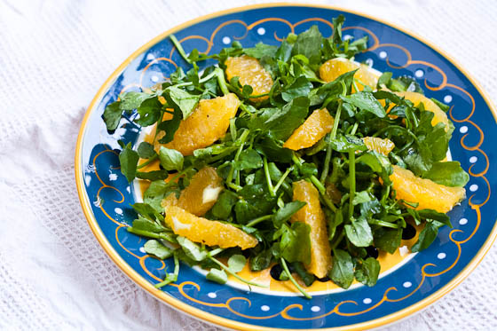 Watercress Salad top