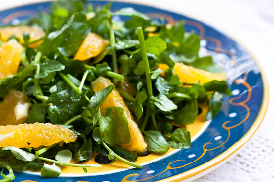 Watercress Salad Chickpea Vegetable Salad