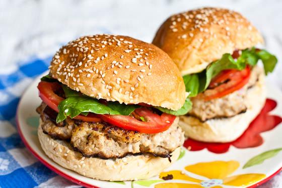 Pork Burger 2