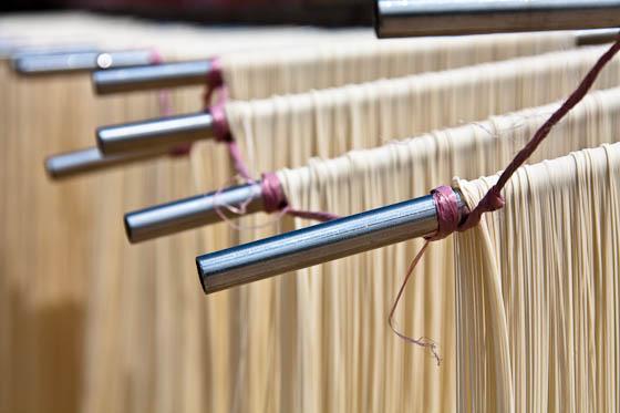 hanging noodles