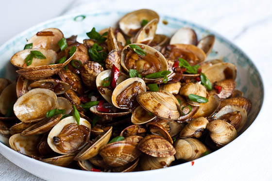 Stir Fry Clams