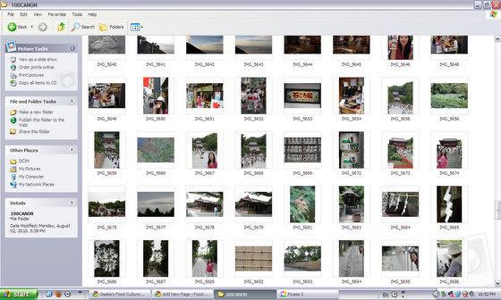 RAW Thumbnails in Windows XP