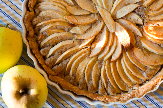 apple tart top