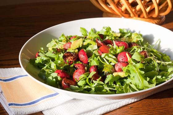 radish salad side
