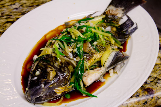 Cantonese steamed whole fish food republik cantonese steamed whole fish forumfinder Image collections